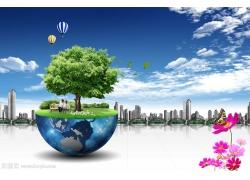 半岛地球风景商务素材