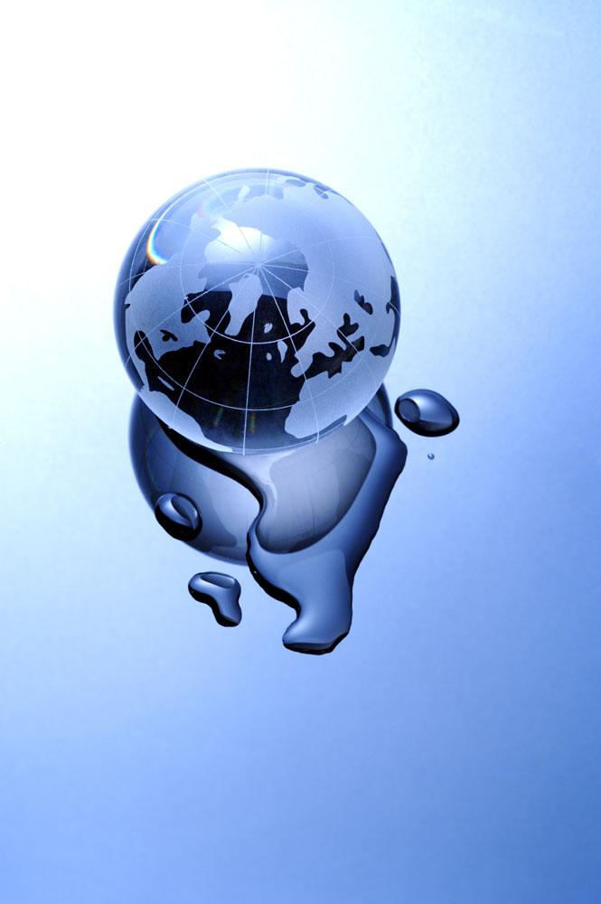 正在溶化的地球高清图片图片