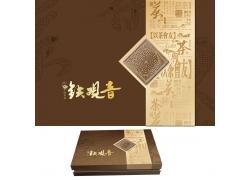 铁观音茶叶包装设计PSD分层素材