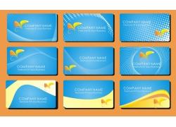 简易名片卡片设计素材