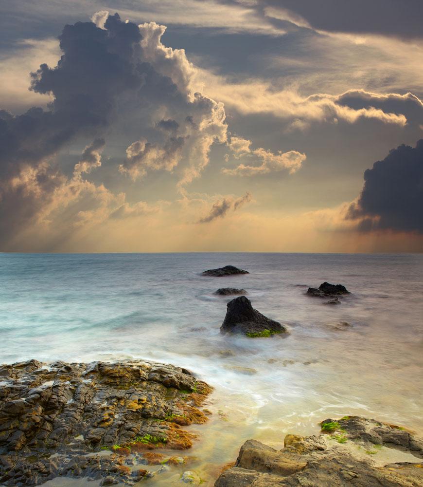 海面自然风光摄影高清图片图片