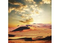 美丽沙漠风光摄影
