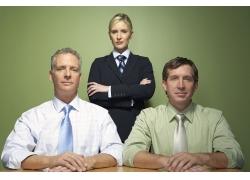 自信商业团队人物