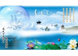 七夕素材 唯美风景图片
