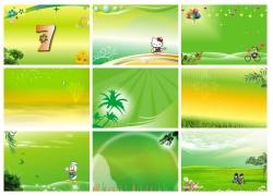 绿色展板 绿色背景图片