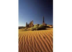 沙漠自然风景