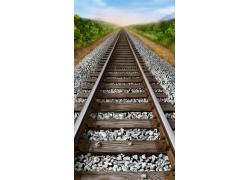 铁路PSD分层素材