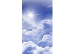 白云云层PSD分层素材