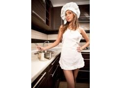 性感美女厨师