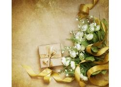 礼物与玫瑰花