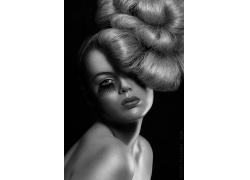 美发模特美女