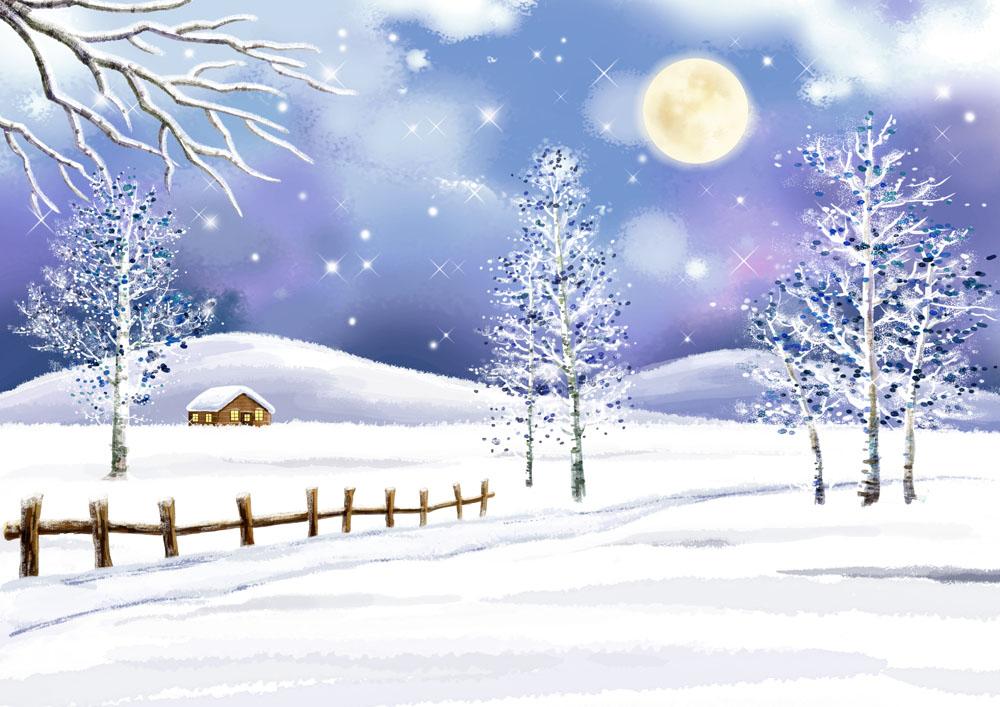 美丽冬天风景