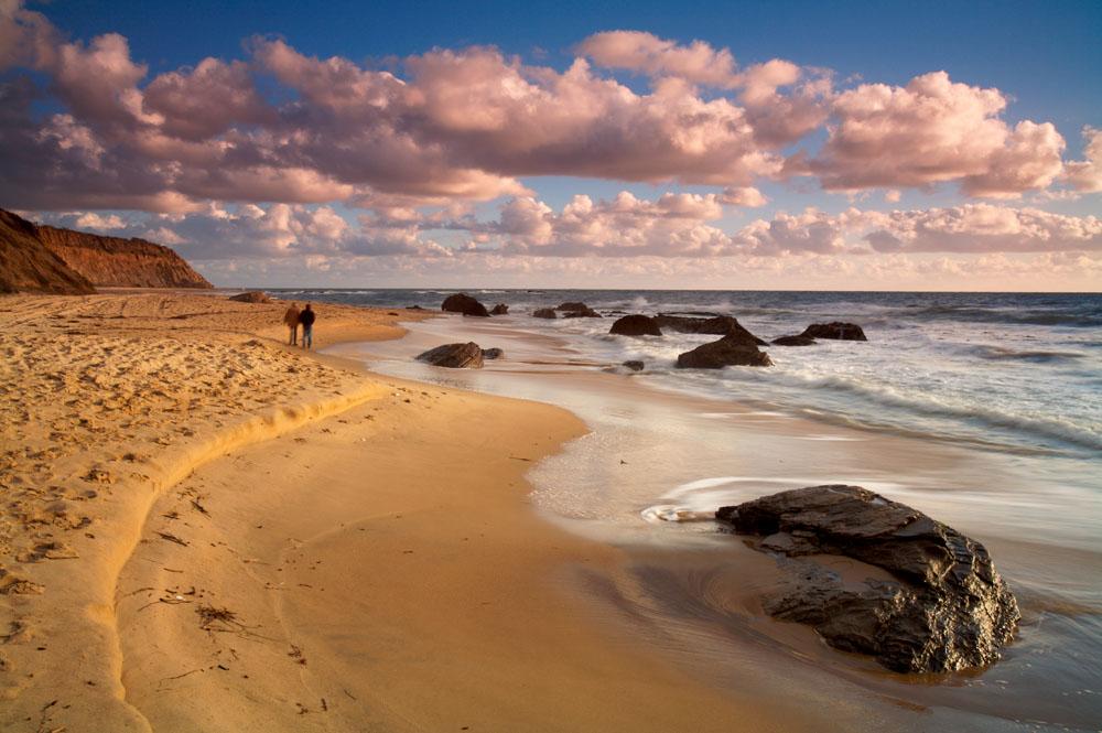 海边沙滩风景摄影图片
