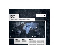 企业科技网站设计模板