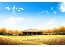 秋天美丽风景