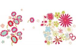 鲜花背景底纹