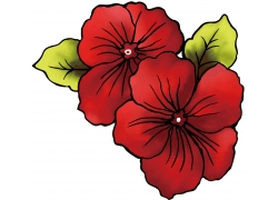 鲜花花卉图案