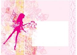 情人节背景花纹