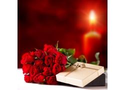 玫瑰花与礼物