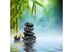 竹子与石头