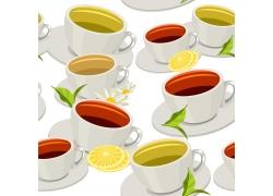 茶杯背景花纹