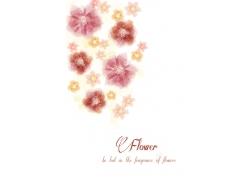 浪漫唯美鲜花背景