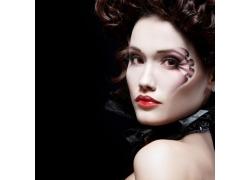 时尚化妆造型模特美女