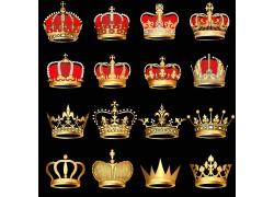 矢量卡通皇冠